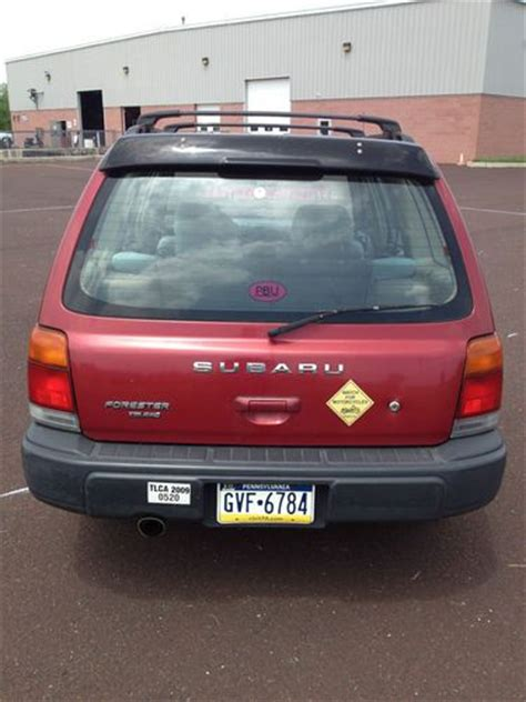 buy car manuals 1998 subaru forester electronic throttle control find used subaru forester 1998 red 177 016 auto transmission 4 cylind station wagon 4 door in
