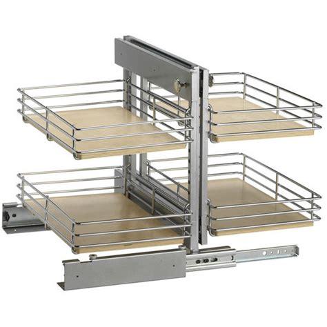 blind corner cabinet pull out unit slide out base blind kitchen corner cabinet unit by knape