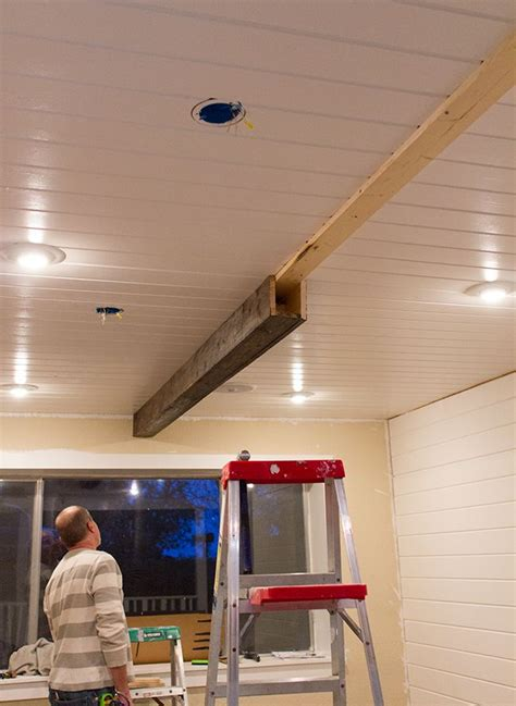How To Install Decorative Ceiling Beams by 17 Best Ideas About Exposed Beams On Wood