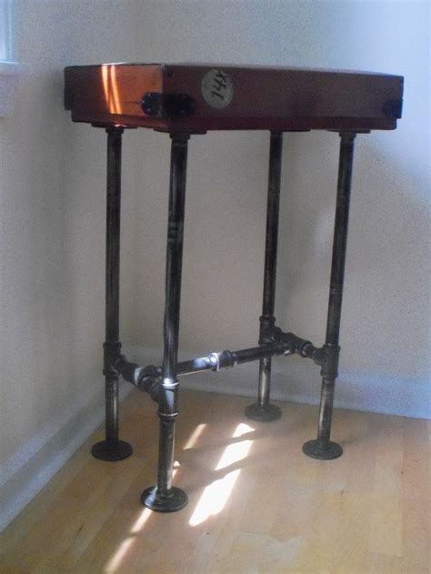 diy iron pipe table legs 1000 images about diy pipe leg tables on