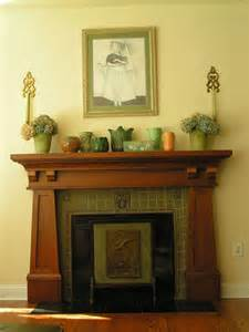 Arts And Crafts Fireplace Mantels Craftsman Style Mantle Bungalow Fireplaces