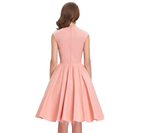 sweetheart swing tiffany peach sweetheart swing dress 1950sglam