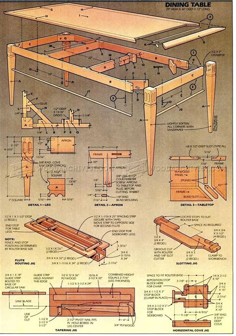 Barn Wood Dining Room Table Plans 187 Woodworktips | 28 dining room table plans wood dining room table