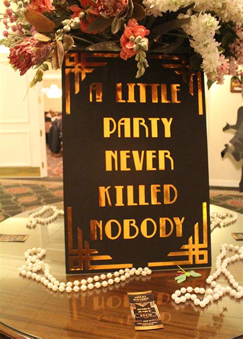 recurring themes in the great gatsby students enjoy great gatsby themed prom 2016 villa maria