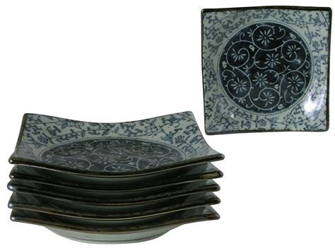 Green Kitchen Canisters Sets rustic dark green blue and cream oriental dinnerware