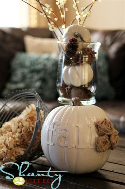 fall pumpkin decorating ideas thanksgiving fall autumn white pumpkin centerpiece and