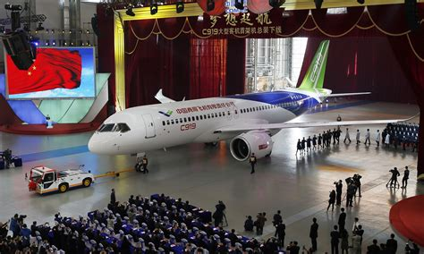 aubry s 1st flight books comac c919 rolled out