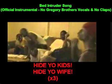 bed intruder lyrics bed intruder song official instrumental with no vocals