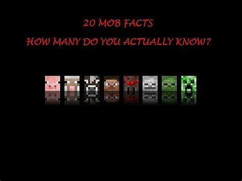 25 Facts You May Not Know About Minecraft Gearcraft - 20 mob facts you might not know about minecraft minecraft blog