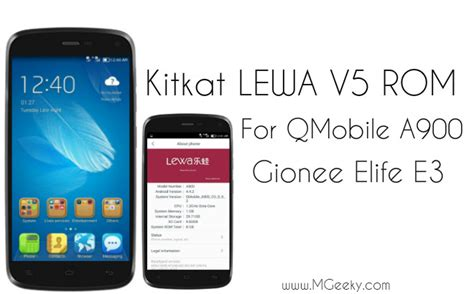 free download themes for qmobile a900 kitkat lewa v5 rom for qmobile a900 and gionee elife e3