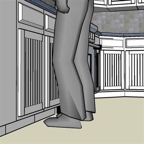 Base Cabinet Toe Kick by How A Cabinet Toe Kick Enhances Kitchen Ergonomics