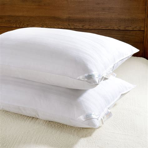 hypo allergenic pillow downluxe set of 2 hypoallergenic alternative bed