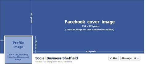 facebook cover layout size 7 best images of maximum size facebook profile facebook