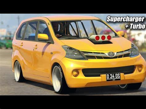 Knalpot Mobil Avansa Hks konvoi avanza ugal ugalan avanza supercharger turbo knalpot blong