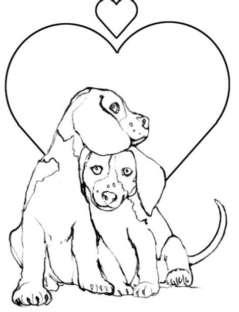 baby puppies coloring pages
