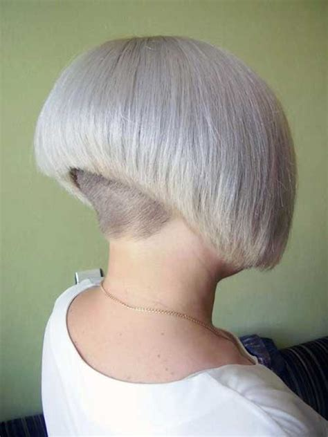 buzzed nape bob shaved nape haircuts for women stories short hairstyle 2013