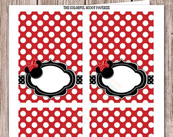 minnie mouse place cards template 8 best images of minnie mouse free printable placecards