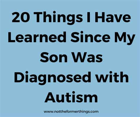 how i gave my son autism the thinking moms revolution 20 things i have learned since my son was diagnosed with