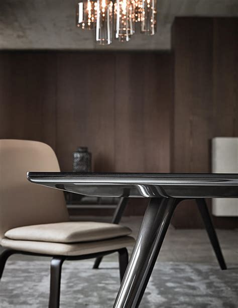 evans dining tables from minotti architonic