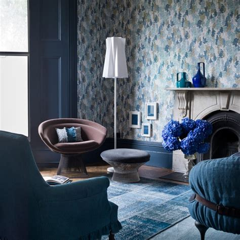 decorating with denim denim blue living room housetohome co uk