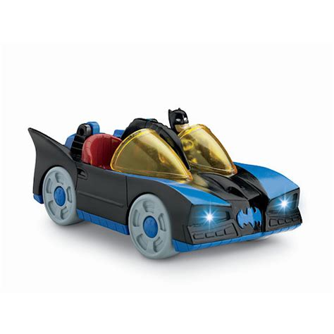 imaginext batmobile with lights fisher price imaginext dc batmobile with