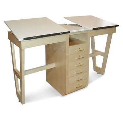 Hann Dual Station Drafting Table Blick Art Materials Blick Drafting Table