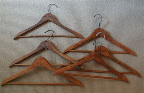 Decoupage Wooden Hangers - vintage wooden hangers to decoupage want to find these