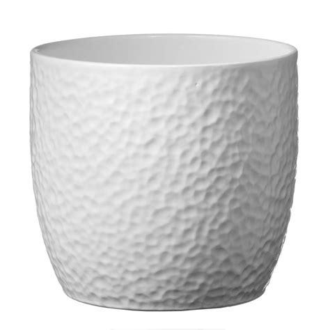 10 Ceramic Planter White - sk boston 10 in white ceramic planter 004900270847 the
