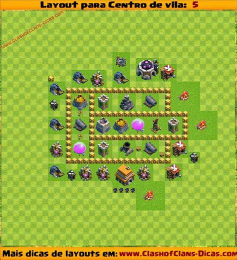 layout coc cv 3 layouts para centro de vila 5 para clash of clans clash