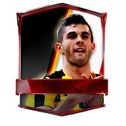 christian pulisic in fifa 17 christian pulisic 96 fifa mobile 17 futhead