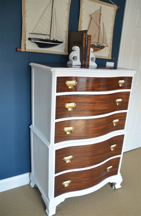 Two Tone Dresser by Two Toned Dresser With Card Catalog Pulls Home Stories A