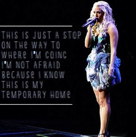 temporary home carrie underwood country quotes