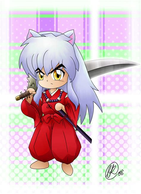 chibi inuyasha by rainbowrose912 on deviantart
