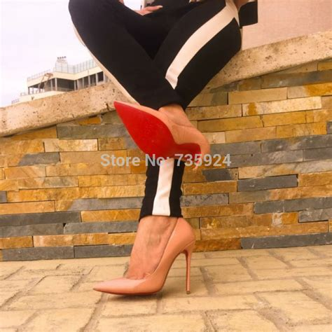 high heels with the bottoms brand fashion pumps bottom high heel pumps shoes