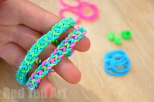 finger loom band patterns ted s