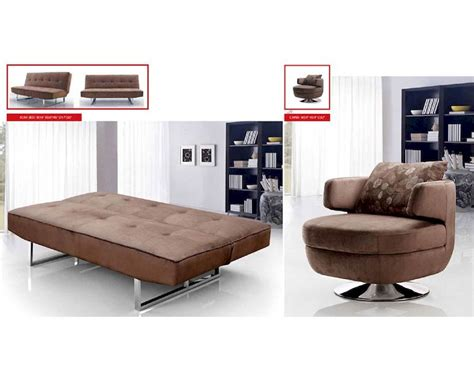 Living Room Sofa Beds Contemporary Living Room Set W Sofa Bed 33ss341