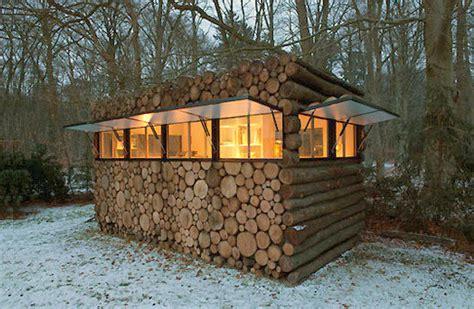 hans libergs recording studio log cabin curbly