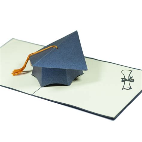 graduation pop up card 3d cap template graduation cap 3d card custom 3d cards wholsale