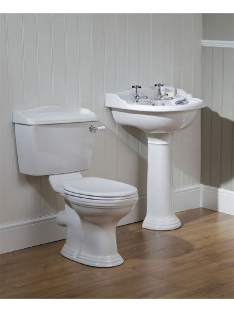 oxford toilet and wash basin set