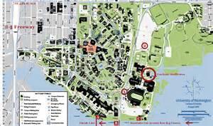 Washington State University Map by University Of Washington Campus Seattle Wa Usa