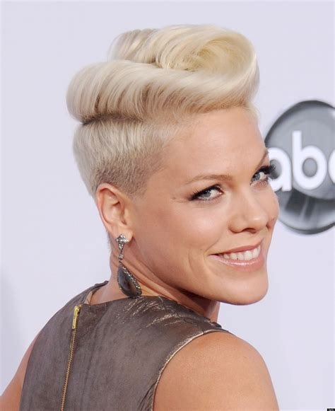 Pink's Long Hair Is Kind Of Freaking Us Out (PHOTOS)