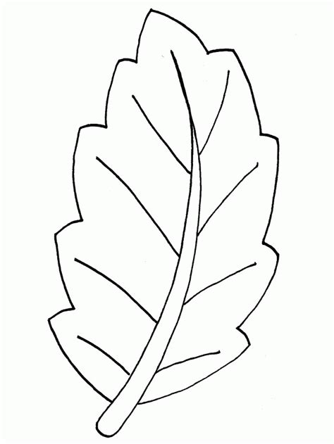 coloring page leaf coloring pages 20