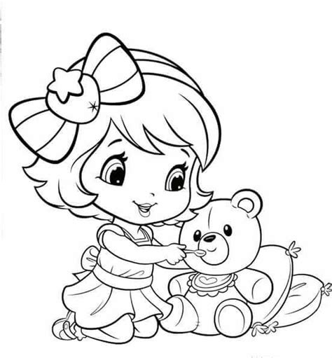strawberry shortcake coloring book baby strawberry shortcake coloring pages sketch coloring page
