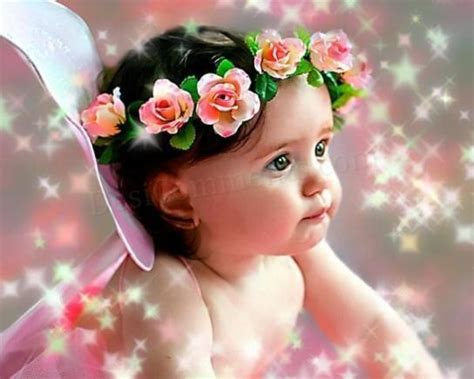 wallpaper of very cute baby fly above the rest cute babies