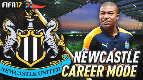 kylian mbappe in fifa 17 newcastle debut for kylian mbappe fifa 17 newcastle