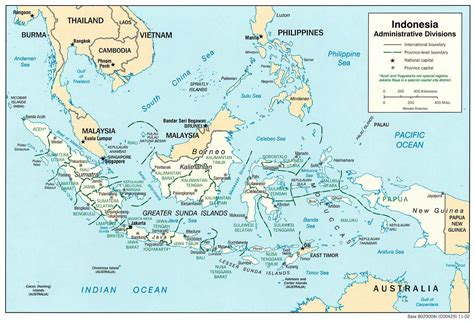 large map of large detailed administrative map of indonesia indonesia