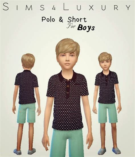 Set Hermes Boy Cc 19 best images about sims 4 toddlers on polos and sims 4
