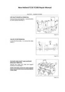 new tc33 tc33d repair manual