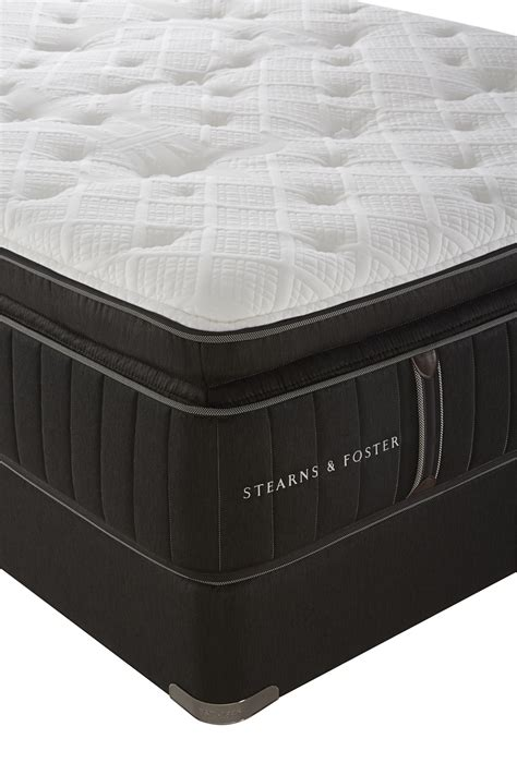 stearns foster owenton luxury plush pillowtop king