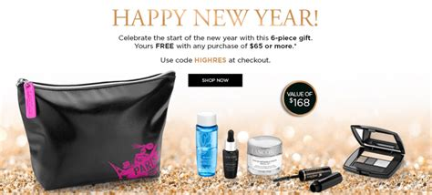 lancome new year gift lanc 244 me canada new year special offers free 6 gift